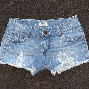 Celebrity Pink Jeans Distressed Shorts